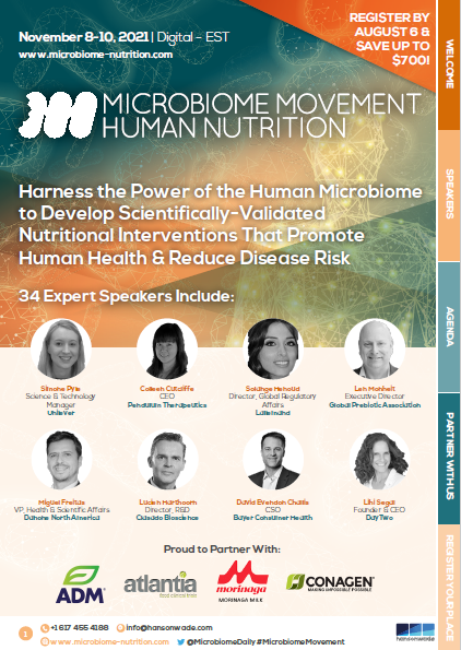 5th Microbiome Movement - Human Nutrition Summit